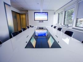 Quarta Compact in combinatie met videoconference